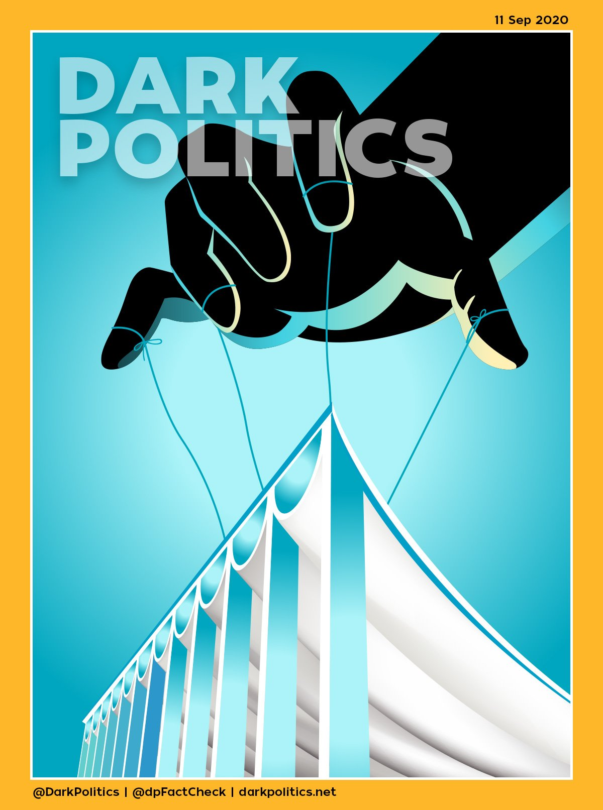 غلاف سبتمبر 2020 - مجلس الأمة